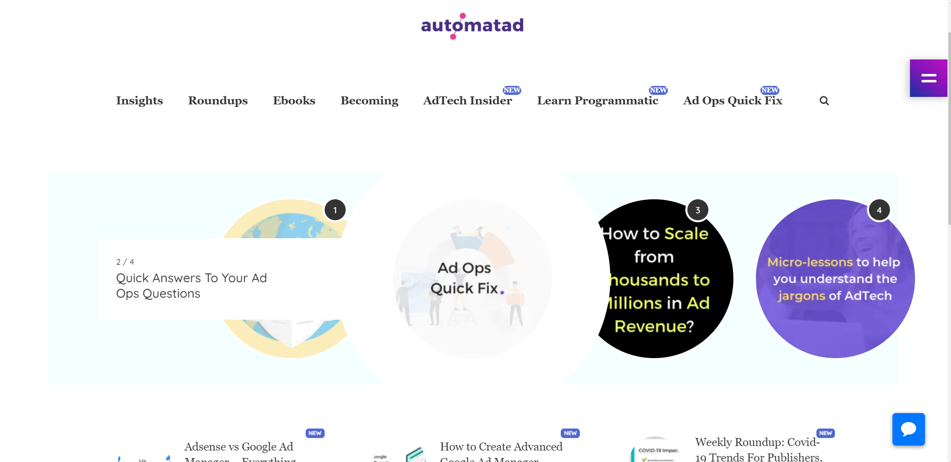 Automatad advertising blog