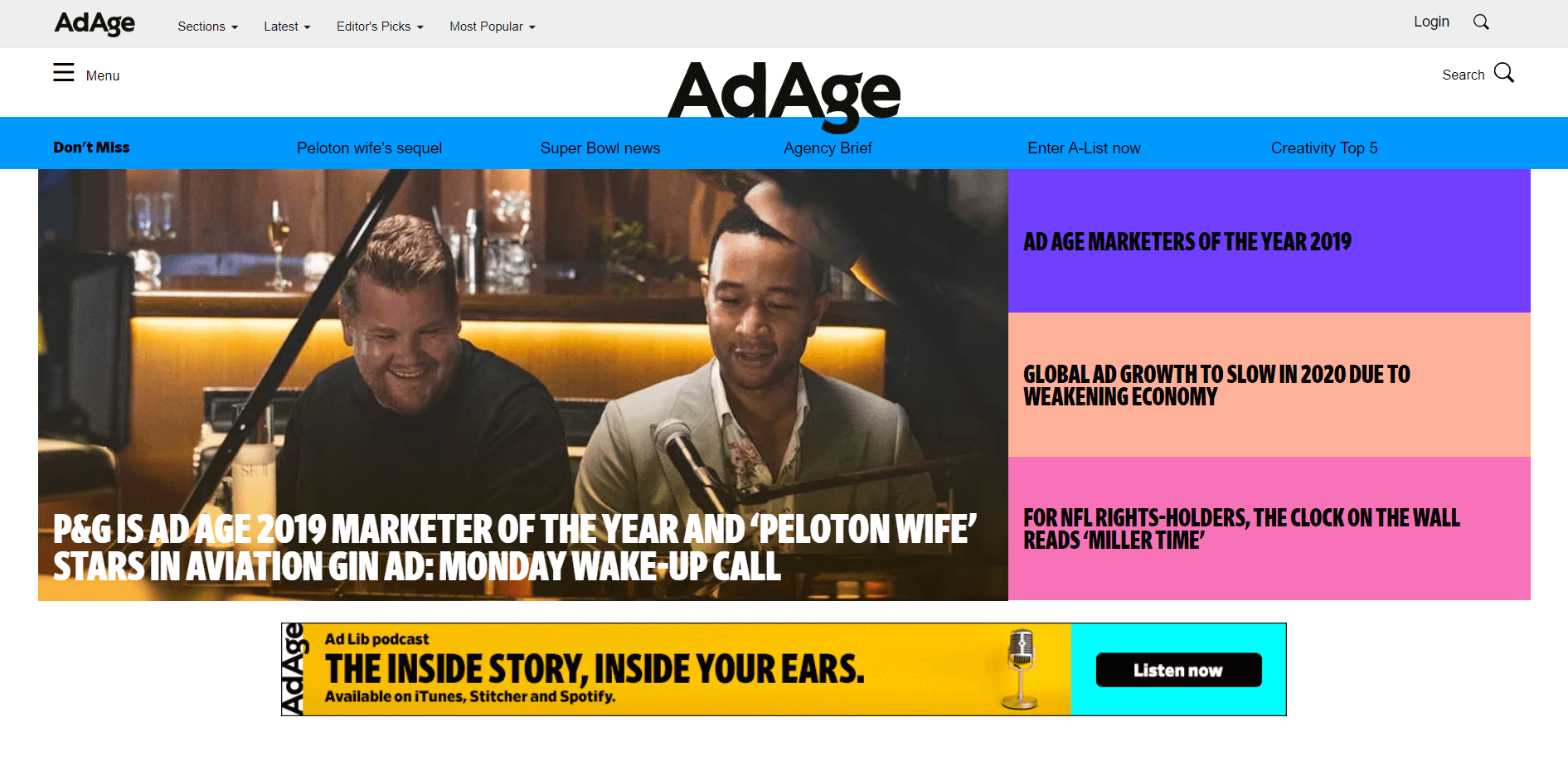 AdAge digital advertising blog
