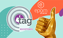 Epom Ad Server becomes TAG Registered Partner