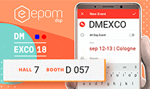 Meet Epom team at DMEXCO 2018