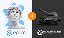 +1 to Notable Epom Partners: Proudly Welcome Our Partnership with Wargaming
