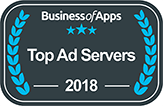 Ad server Businessofapps 2018 award
